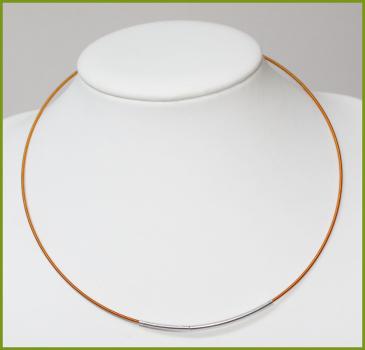 glanzfee spiral halsreif 50 cm mit steckverschlu 1 5 mm kupfer. Black Bedroom Furniture Sets. Home Design Ideas
