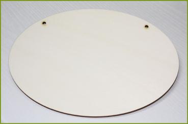 glanzfee t rschild oval holzteil zum selbst gestalten. Black Bedroom Furniture Sets. Home Design Ideas