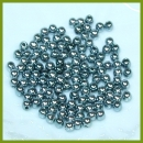 125 Metallic-Perlen 3 mm dunkelgrau