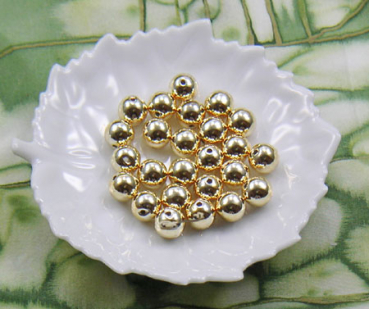 Metallic-Perle 12 mm gold